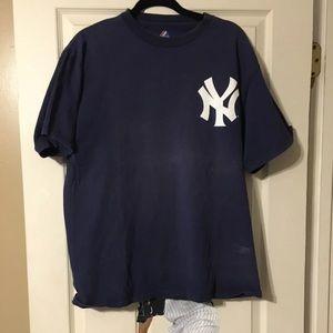 Ny Yankees swisher shirt mens large